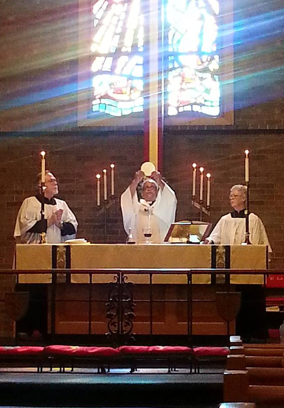 Eucharist at St. Barnabas' Episcopal Church